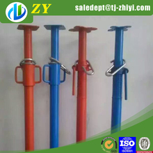 ZHIYI Scaffold leveling jacks/telescopic support pole/shoring prop