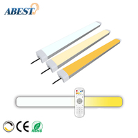 2.4g cct dimmable wireless led tube light /40W led Tri-proof Light