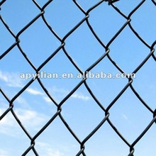 2015 decorative pvc used chain link fence panels