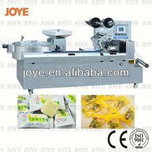 Lollipop Packing Machine/Horizontal Milky Caramel Candy Wrapping Machine JY-1200/DXD-1200 For Sale