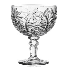 Wholesale Drinking Glass cup with long stem