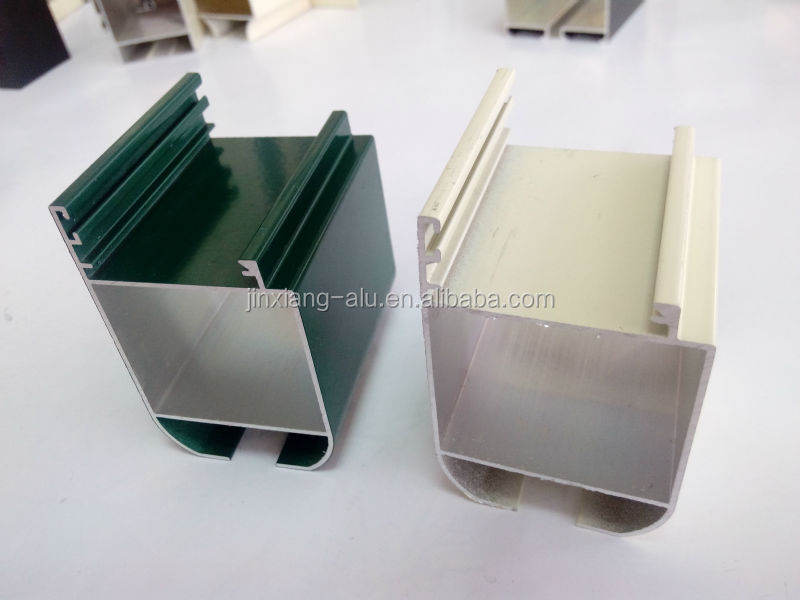 6063 alloy powder coating aluminium channels for building materials