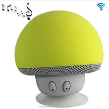 Alibaba express china waterproof mini mushroom bluetooth speaker , free sample portable car sucker speaker bluetooth