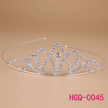 Princess Crown for Girls, Marvelous Headband Tiara with Combs, Nice Christmas Gift Crown