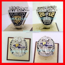 Championship Ring 2012 raven jewelry ring with differenct names/numbers