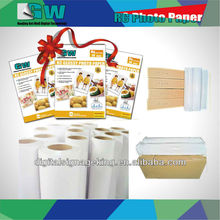 180gsm High Glossy inkjet photo paer with special price for large inkjet format printers