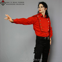 Celebrity lifesize silicone wax statue resin statue Michael Jackson
