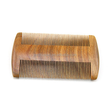 Best price hand made wood laser hair comb