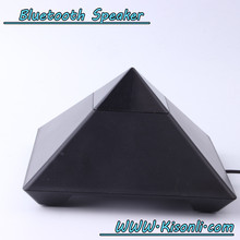 Professional Factory Mini Speaker Pyramid Shape Amplifier Speaker For Laptop