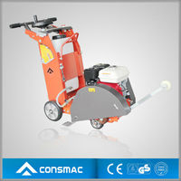 CONSMAC honda gasoline engine road cutter reinforced concrete/asphalt cutting machine