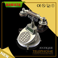 2014 New Exquisite Brass Classic Corded Antique Telephone