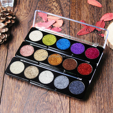 2017 5 Colors Set Glitter Bright Rainbow <strong>Cosmetic</strong> Make up Pressed Diamond Eyeshadows