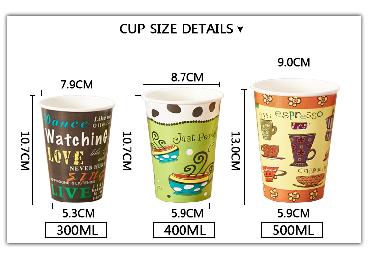 Disposable coffee paper cup manufacturer