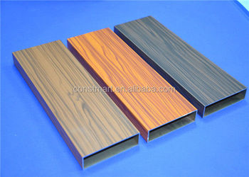 anodized extrusions aluminum profiles of 6000 series brushed profiles