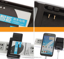 hot Black EU/US Universal Rapid Travel Dock Wall USB Battery Charger For Cell Mobile Phone