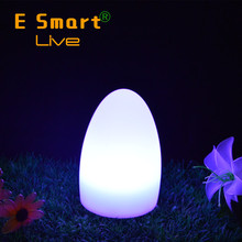 Rgb rechargeable light cordless led restaurant table lamps