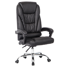 luxury leather boss office chair lift computer ergonomics executive swivel chairs with footrest
