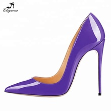 12cm Women Hot Sexy Pointed Toe Stiletto Pumps Shoes Pencil High Heels Dress Pump Shoes