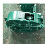 vertical right angle dcy 3 stage gearbox speed vessel reduce gearbox