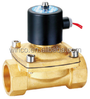 2W Series DC12V AC110v 1 2 inch brass check valve electric water valve Solenoid valve