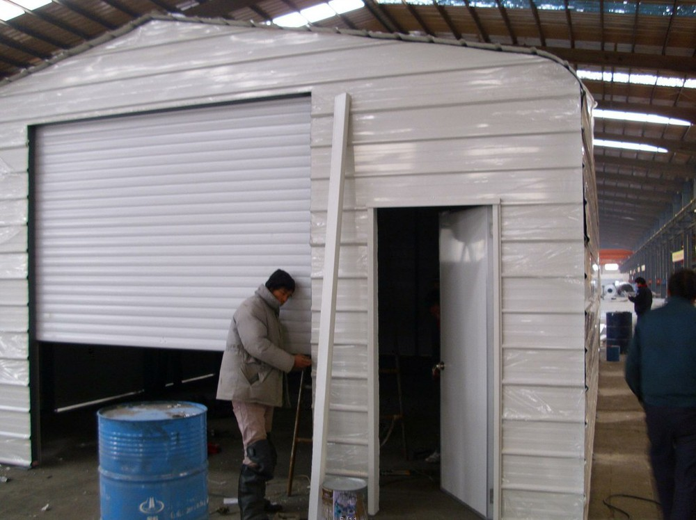 cheap prefabricated warehouse garages