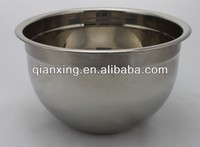 Daily-use stainless steel large salad bowl