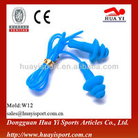Soundproof silicone cheaper price wholesales swimming earplugs