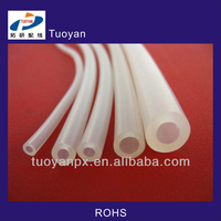 Silicone Clear Plastic Tubes