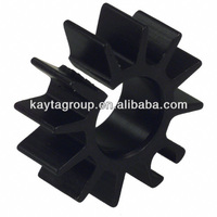 stamping copper pin fin heatsink plate profile China Manufacturer Extrusion Heat Sink Parts