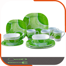 Kitchen wares Used 16 Pieces Wholesale Plastic Dinnerware Set