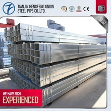 factory top sales square steel pipe/gi rectangular hollow section weight