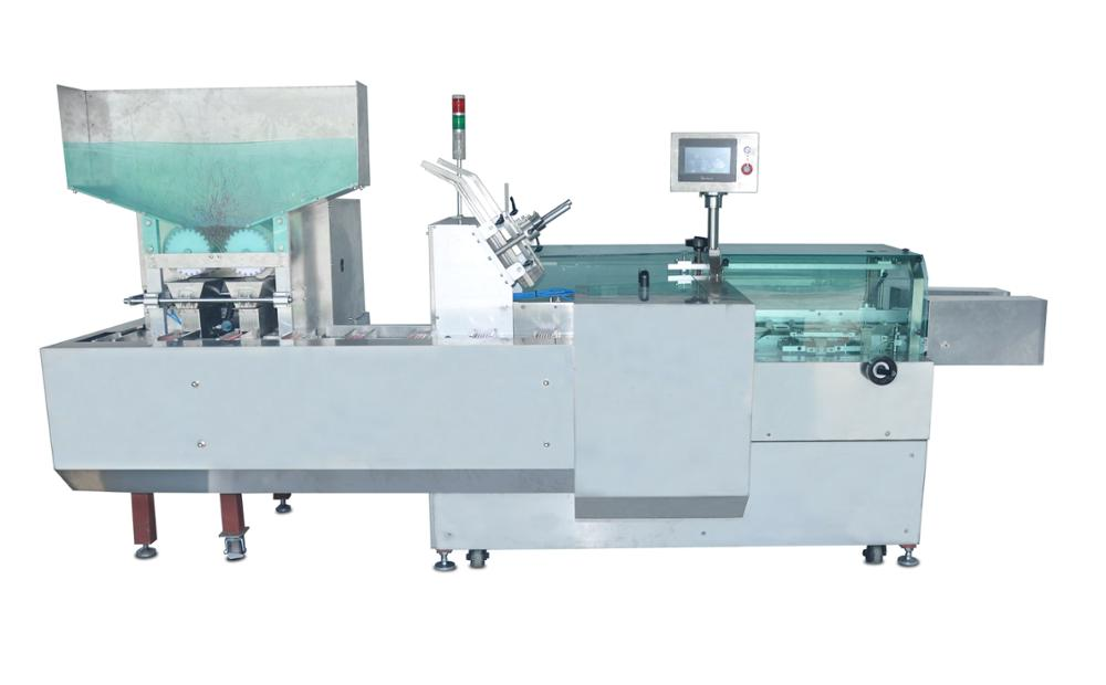 Automatic packing machine for pencil box