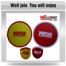 Advertising Nylon Foldable Fabric Flying Ring Frisbee