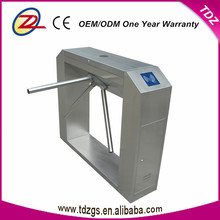 Rfid card reader automatic remote control security turnstile gate facial scanner tripod turnstile
