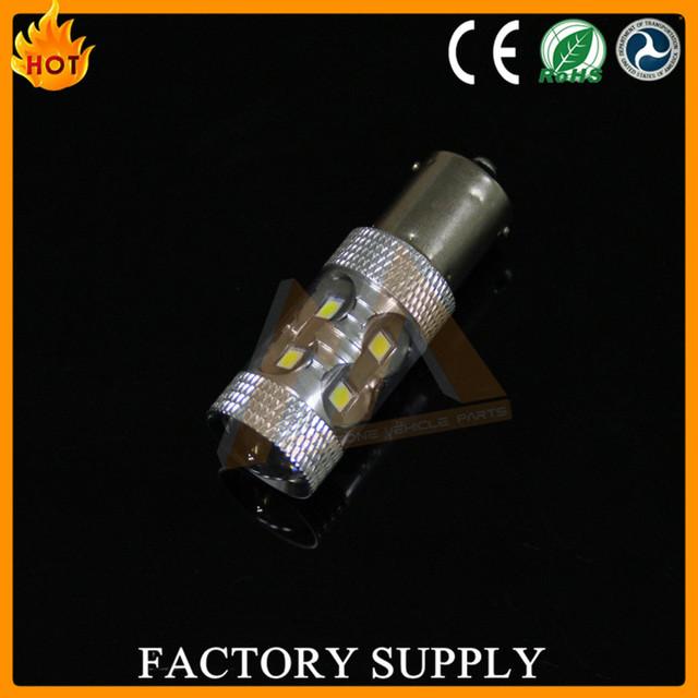 Car led bulbs 60W high power 1156 1157 3156, 3157, 7440, 7443, 9004, 9005 turn light fog lights