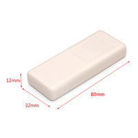 Plastic cast electronics box USB dongle enclosure