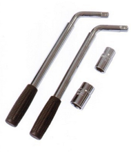 L extension-type socket wrench/deep socket wrenches
