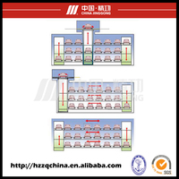 Parking Equipment automated stereo car parking garage for sale