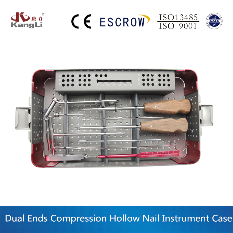 Medical instrument for 4.0 double head compression nail, orthopedic instrument