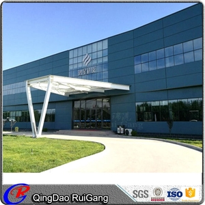 Customized Prefabricated Factory Multi-storey Steel Structure Building
