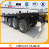 stable quality container semi-trailer with 40ft container chassis and 3mm platform steel plate