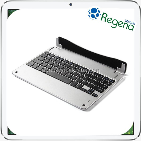 Ultra Slim Bluetooth 3.0 Wireless Aluminum Keyboard Case Cover For iPad 5/6 Air 2