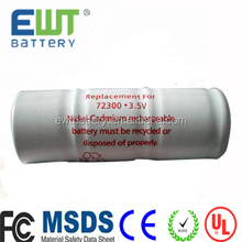 nicd 3.6v 800mah 72200 battery welch allyn medical battery for replacement medical device battery