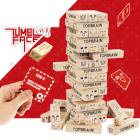 Customized Brand Accepted Wooden Jenga Stacking