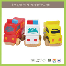 Wholesale Baby Toys Wooden Vehicle Collection Set