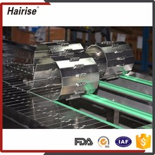 Hairise food grade cooling stainless steel wire net mesh metal overhead belt fryer conveyor system machinery