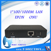 CE Certificated 1GE LAN Port GEPON ONU Fiber Optic EPON ONU with Cortina Chipset Compatible with Huawei/ZTE OLT Made in China