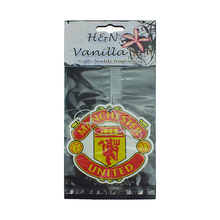 Custom Made 2mm car scent air freshener car air freshener with English soccer teams