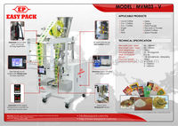 DRINK POWDER PACKING AND PACKAGING MACHINE