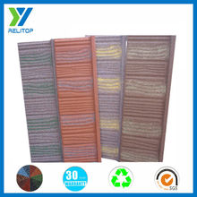 Wholesale hot sale high quality colorful sand coated metal roof tile